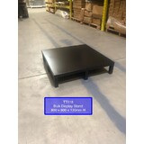 Small Black Stand : 800 MM (W) x 800 MM (W) x 130 MM (H) - with Welded Top -BLACK