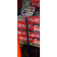 Wire Catalogue Stand - Black (for Front Entry)