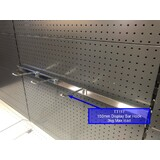 150 MM (W) Display Bar Hook (to go on Heavy Duty Display Bar) : 150 MM (L) x 8 MM (T) -CHROME
