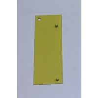 LHS Span Shimmy - to suit both Long Span and Small Span Tables - for stabilistation -YELLOW